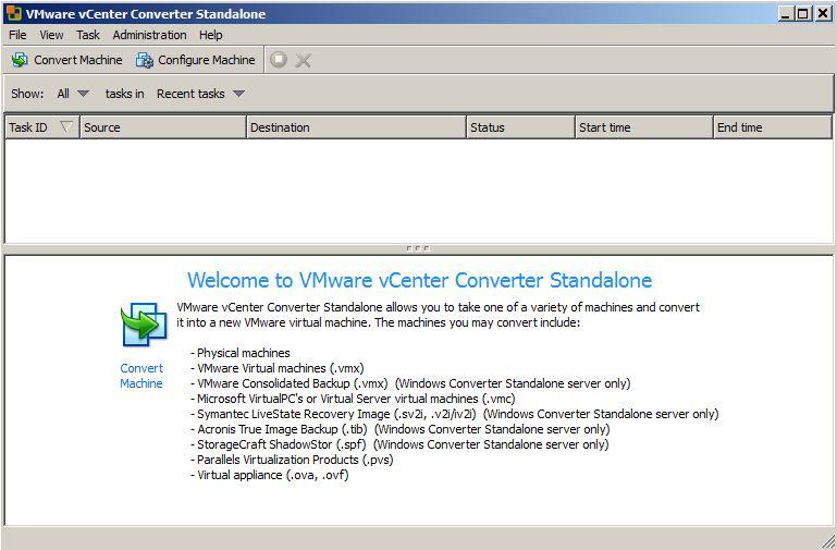 VMWare Converter for PC Backup | Justin's IT Blog