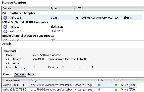 Howto: Windows Storage Server for VMware Storage | Justin's