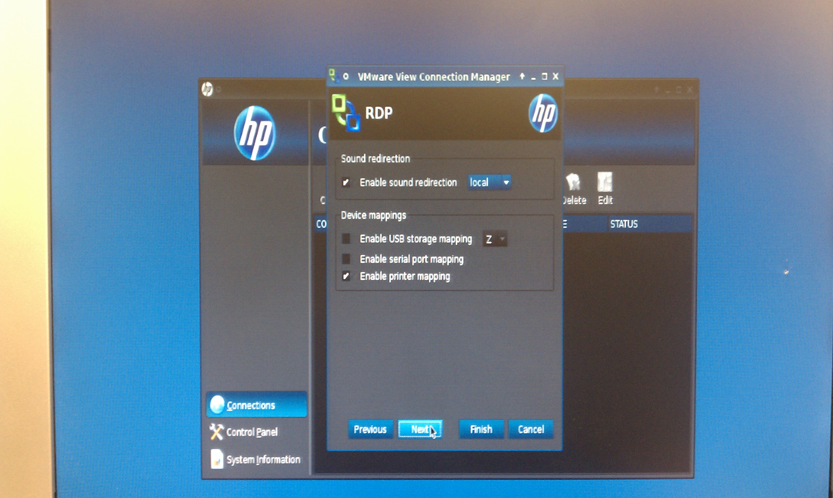 HP t5745 ThinPro Terminal Review   Justin's IT Blog