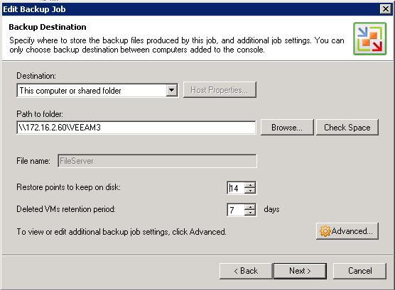 ExaGrid with Veeam Backup Part 3 | Justin's IT Blog