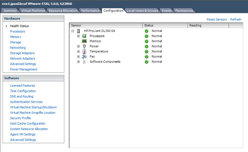 Installing HP CIM drivers on ESXi 5 0 | Justin's IT Blog