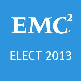 EMC ELECT 2013 Award