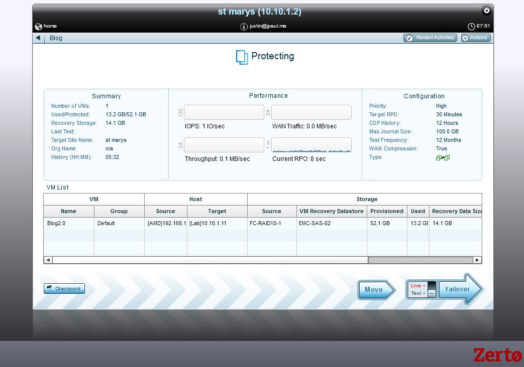 Blog VPG status box