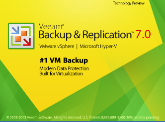 Veeam V7 vCloud Director Preview