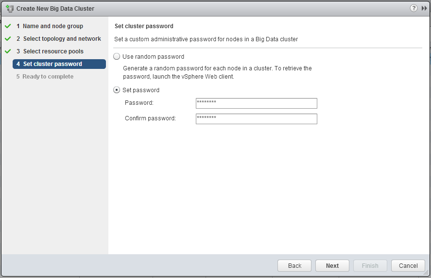 Step 4 pick a Password or have it generate one for you