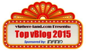 2015 Top vBlog Voting now open!