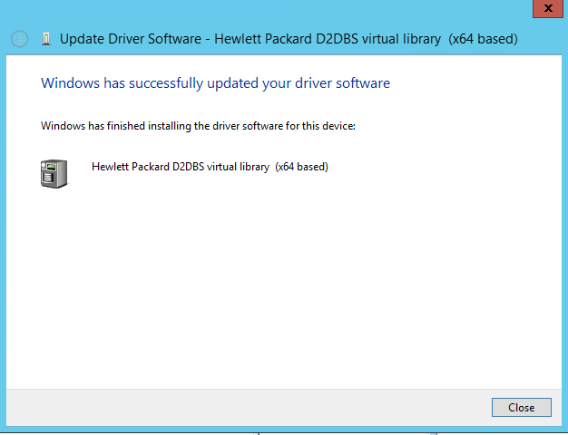 Testing Veeam Tape features with HP StoreOnce VTL   Justin's