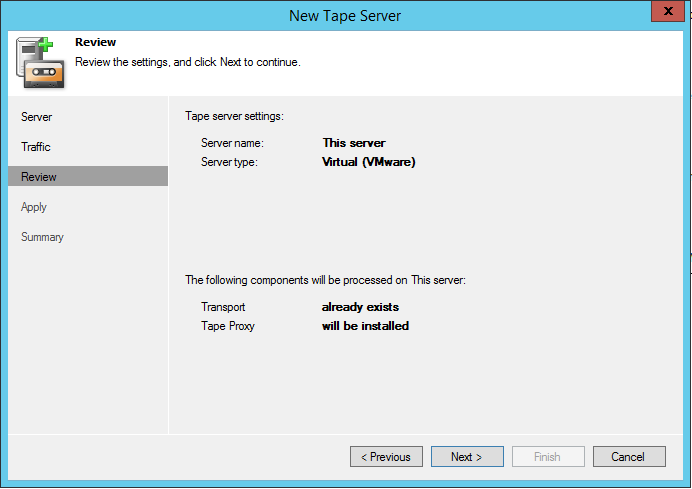 Testing Veeam Tape features with HP StoreOnce VTL | Justin's