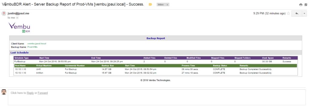 Email Status Rrport