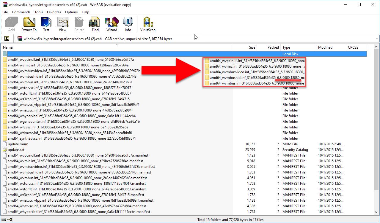 How to install Hyper-V Integration Services for Easy Cross